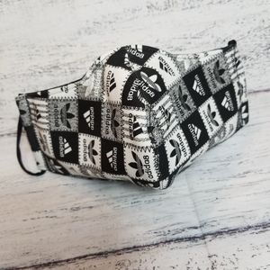 Other - Black/White Reusable Face Mask